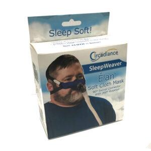 SleepWeaver Elan soft cloth mask and HDGR